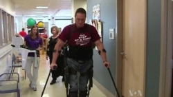 Robotic Suit Helps Paralyzed Walk