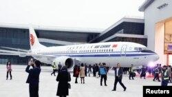 波音製造的中國國際航空公司(Air China)飛機。