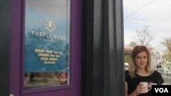 """Kafić """"Purple door"""""""