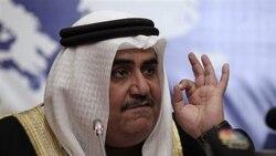 شیخ خالد بن احمد آل خلیفه، وزیر امورخارجه بحرین
