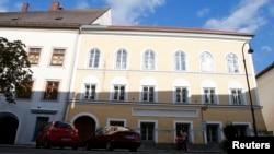 La maison natale d'Adolf Hitler à Braunau am Inn, en Autriche, le 24 septembre 2012.