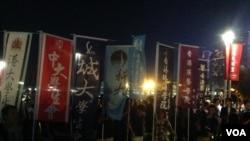香港本土和主張港獨團體舉行集會 (圖片集)