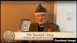 曾担任二战陆军游骑兵的兰德尔·程