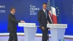 """2011-11-14 粵語新聞: 奧巴馬﹕法國在巴勒斯坦立場令美國""""失望"""""""