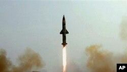 巴基斯坦成功試射遠程導彈。