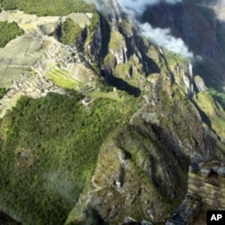 Machu Picchu is an example of how human and natural environments can exist in a visually cohesive whole