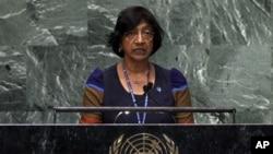 Komisaris Tinggi PBB untuk HAM, Navi Pillay menghendaki penyelidikan internasional terhadap catatan hak asasi manusia Korea Utara (foto: dok)