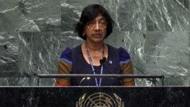 Cao ủy Nhân quyền Liên Hiệp Quốc Navi Pillay.
