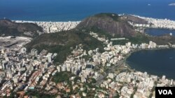 نمای ریو از بالای کوه کورکوادو
