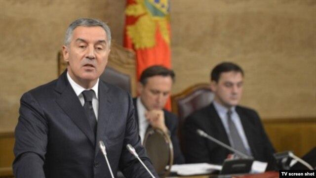 Premijer Crne Gore Milo Djukanović (arhivski snimak)