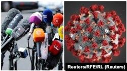 Uočeno je da vlasti Srbije na početku pandemije koronavirusa nisu preduzimale korake u pogledu zaštite slobode medija: Pavol Salaj (Foto: Reuters i RFE/RL)