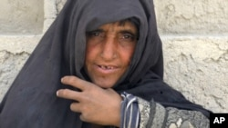 Ama Gullah, the mother of an Afghan National Army soldier killed two years ago in Qalat, Kandahar.