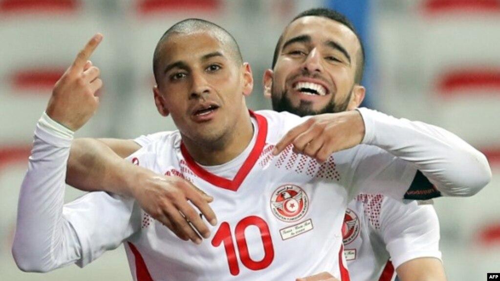 L équipe de tunisie pour le mondial