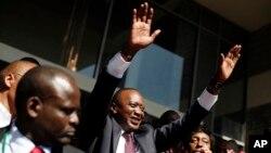 Избранный президент Кении Ухуру Кеньятту