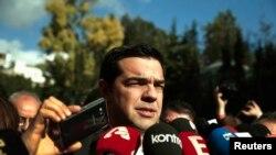 Alexis Tsipras, leader du parti d'opposition Syriza en Grèce (Reuters)