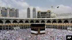 每年大约有300万穆斯林信徒前往麦加朝圣(资料照片)