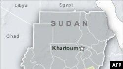 Bản đồ 2 nước Nam Sudan và Bắc Sudan
