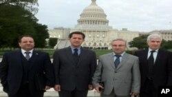 Welîd Şêxo, Kamiran Bêkes, Hekîm Beşar û Sadeddîn Mella li ber Kongresa Amerîkî ne