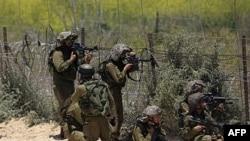Izraelski vojnici na Golanskoj visoravni, 5. juni, 2011.
