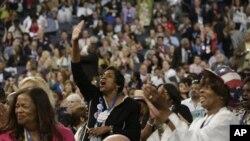 Charlotte mampu merangkul 35.000 orang yang menghadiri konvensi Partai Demokrat itu pekan lalu (foto, 4/9/2012).