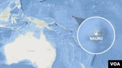 Map of Nauru