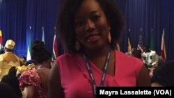Irina Vegas, participante de São Tomé e Príncipe no Yali 2015