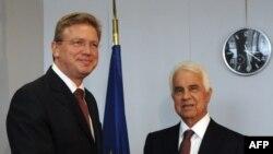 Štefan Füle ve Derviş Eroğlu