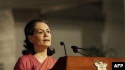 Lãnh đạo Đảng Quốc đại đương quyền Sonia Gandhi