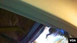 El hueco que se produjo en una parte superior del fuselaje del avión de Southwest produjo la despresurización de la cabina.