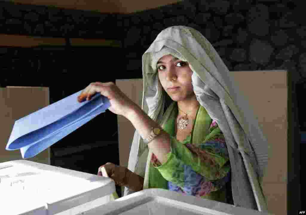 18 сентября 2005 года в Афганистане прошли первые парламентские выборы