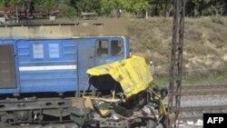 Rreth 41 të vrarë nga përplasja e një treni në Ukrainë