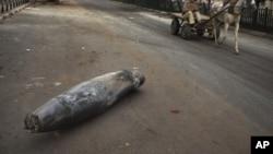 Эта ракета прилетела из Газы
