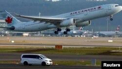 加拿大航空公司空中巴士資料照。