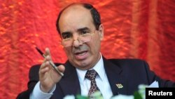 FILE - Libya's U.N. ambassador, Ibrahim Dabbashi, says his country is willing to accept an observer to ensure that approved weapons get to their intended destination.
