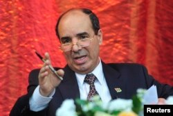 FILE - Libya's U.N. ambassador, Ibrahim Dabbashi, said he fears an all-out civil war.