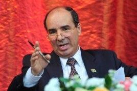 FILE - Libya's U.N. ambassador, Ibrahim Dabbashi, said he fears an all-out civil war.