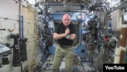 NASA astronaut Scott Kelly