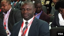 Le secrétaire principal de l'Unita, Alberto Ngalanela
