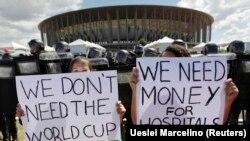 Demonstranti u Brazilu protestuju zbog preteranog trošenja vlade na fudbalski kup