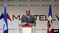 Tổng thống đắc cử Michel Martelly của Haiti