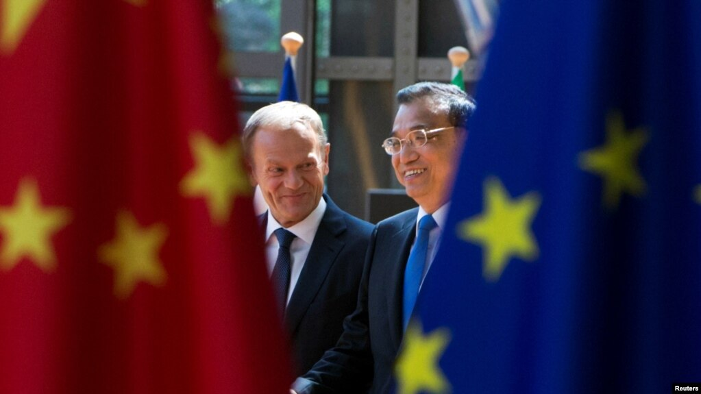 Image result for Exclusive - China presses Europe for anti-U.S. alliance on trade