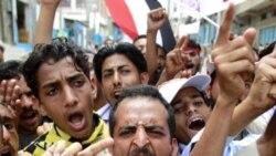 مخالفان دولت در تعز از علی عبدالله صالح، رییس جمهوری، می خواهند که از قدرت کناره گیری کند