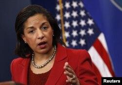 美国白宫国家安全顾问苏珊·赖斯(资料照片)