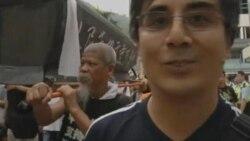 اعتراضات در هنگ کنگ به نقض حقوق بشر در چين