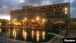 Hotel Dar al Salam di kota Tobruk, yang dipakai sebagai gedung sementara bagi parlemen Libya yang diakui internasional (foto: dok).