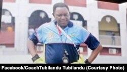 Dimbi Tubilandu, gardiens de buts ya kala mpe entraineurs ya Vita Club akufi. photo ya le 1er aout 2020. (Facebook/Tumbilandu)