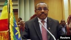 Ethiopia's acting prime minister Hailemariam Desalegn (2011 photo)