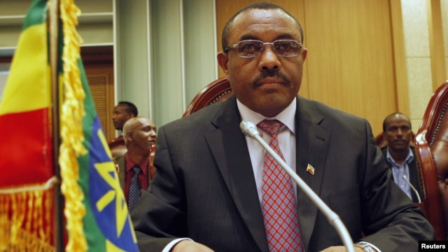Ethiopian Deputy Prime Minister and Foreign Minister Hailemariam Desalegn attends a meeting for the Joint Political Committee between Sudan and Ethiopia in Khartoum December 24, 2011.
