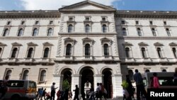 영국 런던의 외교부 건물 (자료사진)
