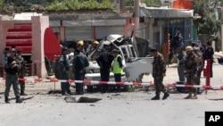 کتلۀ بزرگ واقعات امنیتی را انفجار بمب های کنار جاده در افغانستان تشکیل می دهد